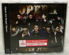 Super Junior Opera Taiwan Ltd CD+DVD+8P+Sticker Card (Japanese Lan.) SJ