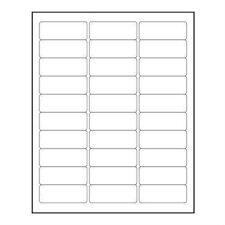 Return Address Labels - Blank (Sheet of 30 labels or multiples)