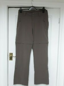 The North Face womens khaki hiking trousers size 12