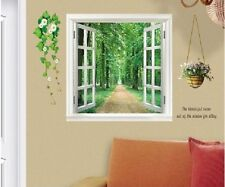 Forest View Large 3D Window View Wall Sticker