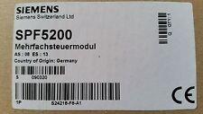 Siemens Mehrfachsteuermodul SPF5200 / S24218-F8-A1