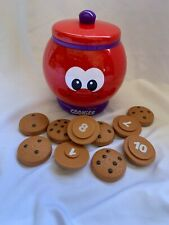 The Learning Journey ~ Count & Learn Cookie Jar W/10 Cookies & Lid