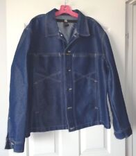 Marithe Francois Girbaud Trucker Jacket Large VTG 80'S HONG KONG NO WEAR!!