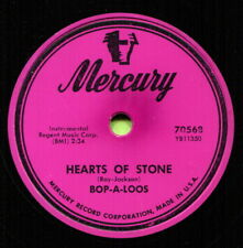 BOP -A-LOOS (Hearts Of Stone / Miracle Mambo) R&B/SOUL 78  RPM  RECORD