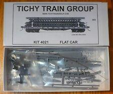 Tichy Train Group #4021 40' 50-Ton AC&F Flatcar - Kit -- Undecorated