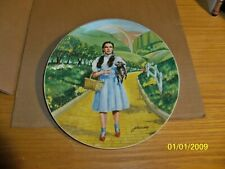 "Wizard Of Oz Collector Plates,""Over The Rainbow"" First Issue In Series."