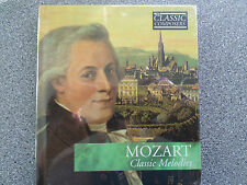 MOZART - CLASSIC MELODIES - CD -  ALBUM BOOK CASE  (NEW SEALED)