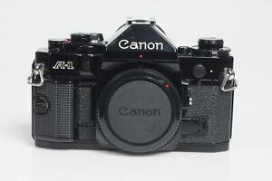 Canon A-1 SLR Film Camera Body A1 #026