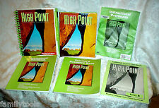 High Point Reading 5th Grade 5 Teachers Edition TEXT RESOURCES Homeschool LOT 6