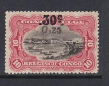 Belgian Congo - SG 115 - l/m - 1923 - 0.5 0n 30c on 10c