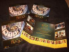 HUGO 4 Oscar ads on clock tower, Martin Scorsese, Ben Kingsley Sacha Baron Cohen