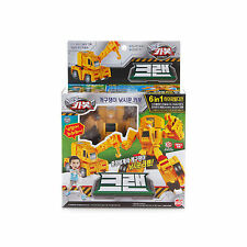 Hello Carbot Heavy Equipment Cran Car Toy Action Figure
