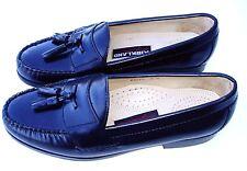 Kirkland Signature 9D Black Leather Tassel Dress Style Loafers Beautiful Shoes