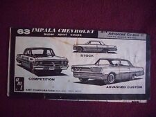 1963 Chevrolet Ht instructions only