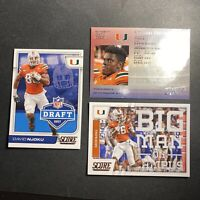 (3) 2017 Panini Score Prestige Rookie Card RC Cleveland Browns David Njoku Lot