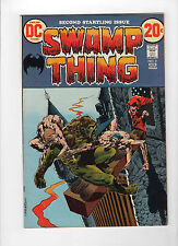 Swamp Thing #2 (Dec 1972-Jan 1973, DC) - Very Fine/Near Mint