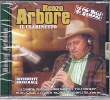 CD ♫ Audio RENZO ARBORE ~ IL CLARINETTO ~ LE PIÙ BELLE DI SEMPRE nuovo