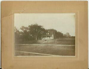 c1910 Topeka Kansas 34 Courtland Avenue photo - Nellie Kern on porch