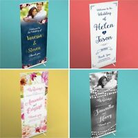 Personalised Welcome To Our Wedding Sign • 260gsm • Canvas • Pop Up Banner
