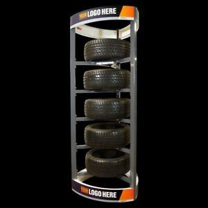 Reifenständer,Reifen & Felgen-Display. Verkaufspräsentations Display
