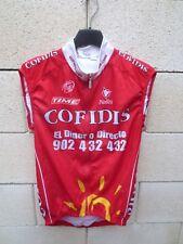 Maillot cycliste COFIDIS porté par HARY UCI Pro Tour NALINI shirt jersey trikot