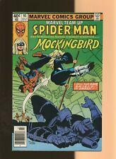 Marvel Team-Up 95 FN/VF 7.0 * 1 * 1st Bobbi Morse as Mockingbird! Spider-Man!