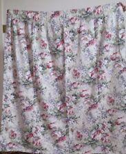 Primark VINTAGE FLORAL / RETRO / CHIC COTTON CURTAINS 104 x 135cm STUDENT