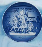 """1993 Bing & Grondahl B&G Children's Day Plate """" The Carousel """""""