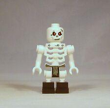 LEGO Ninjago Chopov Skeleton Minifigure 2505 No Armor No Helmet Genuine