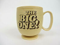 Vtg Dunkin Donuts The Big One Plastic Coffee Mug Cup