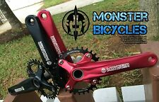 Fat Bike Crankset, Monster Bicycles, Unrivaled quality and durability!
