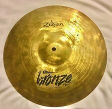 """Zildjian Scimitar Bronze Rock 14"""" 36cm Hi-Hat Cymbal 1092 Grams"""