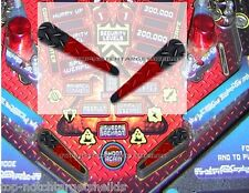 TERMINATOR 3 Pinball  Flipper Armour -2 piece set