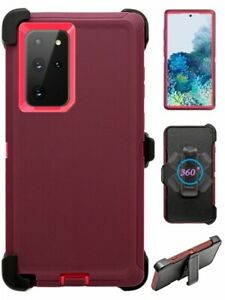 For Samsung Galaxy Note 20 Ultra Defender Case Cover w/Belt Clip fits Otterbox