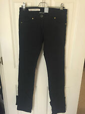 Sass and Bide 'Walk With Me' Black Studded Denim Jeans Size 25 (XS)
