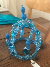 Small blue crown, brand new with tag, ideal for a hen/stag do. From So High Soho