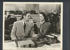 TARZAN + JANE IN COURT - 1942 TARZAN'S NEW YORK ADVENTURE - JOHNNY WEISSMULLER