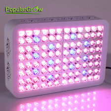 PopularGrow 300W LED Grow Light Upgrade 9 brands Hydro Medical Veg Flower Lamp