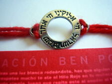 Good Luck Kabbalah BRACELET GOD shema seal Red String ben porat prayer