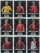 Panini Prizm World Cup 2018 Complete 9 Card Denmark Team Set