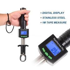 Digital Fish Lip Gripper GrabberTackle Grip Clip Fishing Holder Scale Ruler C7V6