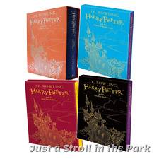 Harry Potter: Complete Books 4 5 6 7 Hardcover Slipcase UK Gift Editions Set NEW