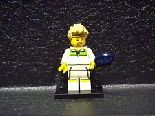 LEGO Mini Figure! Series 7 ! TENNIS ACE ! Blind Bag Mystery 8831 Polybag Mint