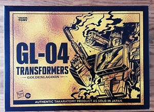 NEW Transformers Hasbro Exclusive GL-04 GOLDEN LAGOON SOUNDWAVE Sealed