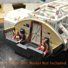 "Space1999 Eagle Transporter Cockpit Interior for the 22"" MPC model kit"