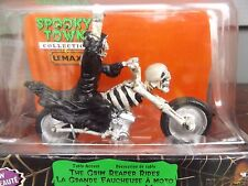 RARE Spooky Town Lemax Halloween Village Grim Reaper Rides Table Accent RETIRED