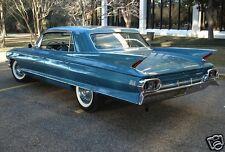 1961 Cadillac Fleetwood, BLUE, Refrigerator Magnet, 40 MIL