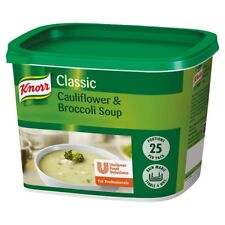 Knorr Cream Of Cauliflower & Broccoli Soup 404g 25portions