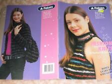 KNITTING BOOK PATTERN PATONS 2164 FEATHERS & ZEST 8 PLY SIZES 6 TO 24