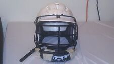 CASCADE MLL CLH LACROSSE HELMETS WHITE BLACK FACE MASK YOUTH XS 40472